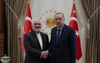 دیدار ظریف با رئیس جمهور ترکیه