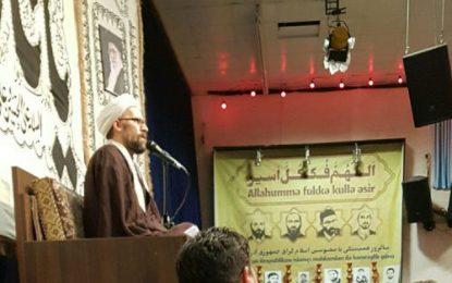 برگزاری مراسم روز همبستگی با محبوسین اسلامگرای جمهوری آذربایجان در زنجان / عکس