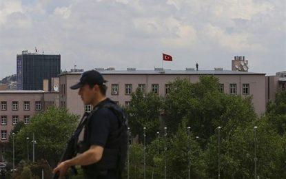 حمله دو تن از اعضای یک گروه تروریستی به مجلس ترکیه