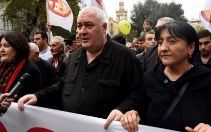 حزب سیاسی «اتحاد میهن پرستان گرجستان» خواستار بی طرفی نظامی گرجستان شد