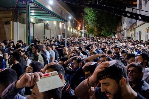 گزارش تصویری از مراسم سومین شب احیا در جمهوری آذربایجان