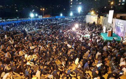 گزارش تصویری از اولین شب از شب های لیالی قدر در جمهوری آذربایجان