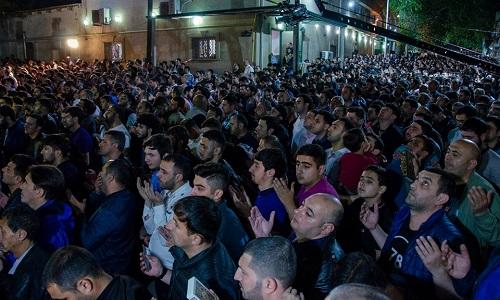 برگزاری مراسم باشکوه سومین شب از شب های قدر در جمهوری آذربایجان