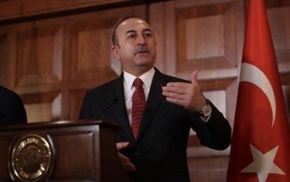 انتقاد وزیر امور خارجه ترکیه از نهادهای بین المللی
