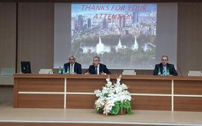 همایش پزشکی اساتید دانشگاه علوم پزشکی تبریز در نخجوان برگزار شد