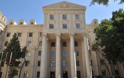 اعتراض باکو به سفر نمایندگان پارلمان فرانسه به  مناطق اشغالی قره باغ