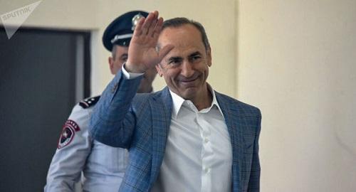 آزادی رئیس جمهور سابق ارمنستان از زندان و آغاز دو دستگی میان ارامنه ایروان و قره باغ