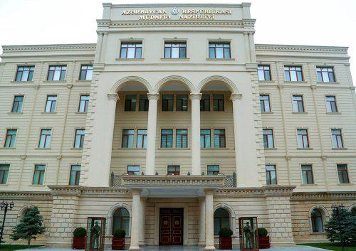 وزارت دفاع جمهوری آذربایجان: وضیعت در خطوط تماس نیروهای نظامی جمهوری آذربایجان و ارمنستان نسبتا آرام است