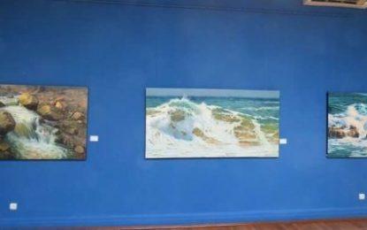 نمایش آثار نقاشی «ودود موذن زاده» در باکو