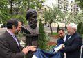 رونمایی از تندیس چهار شاعر ایرانی در مسکو