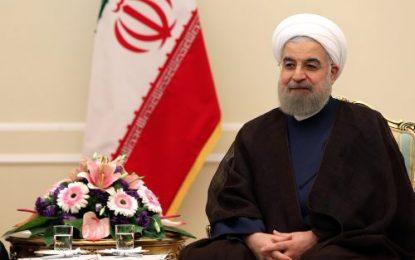 پیام تبریک روحانی بمناسبت سالروز استقلال جمهوری آذربایجان