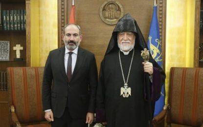 تاکید پیشوای دینی ارامنه جهان بر الحاق اراضی اشغالی قره باغ به ارمنستان