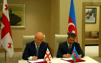 امضا توافقنامه همکاری دو جانبه دفاعی میان جمهوری آذربایجان و گرجستان