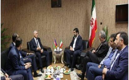 دیدار استاندار اردبیل با سرکنسول جمهوری آذربایجان در تبریز