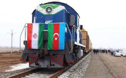 صادرات ۱۱ هزار و ۸۵۳ تن کالا از راه آهن آستارا به کشورهای حوزه قفقاز