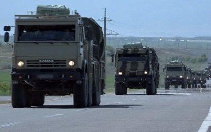 رزمایش نظامی مشترک جمهوری آذربایجان و ترکیه در جمهوری خودمختار نخجوان