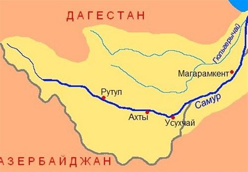 امضا پروتکل میان روسیه و جمهوری آذربایجان برای تقسیم منابع آب رودخانه مرزی سامور