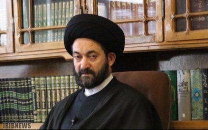 آیت الله سید حسن عاملی: رسانه های برون مرزی نقش و تاثیر مهمی در تبیین فلسفه انقلاب اسلامی به جهان دارند