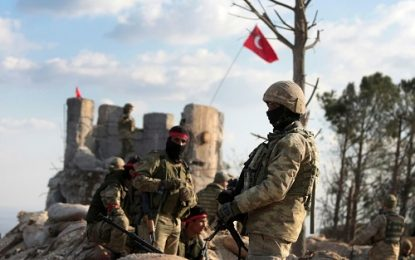 کشته شدن ۲ نظامی ترکیه در درگیری با عناصر گروه پ.ک.ک