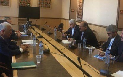 دیدار وزیر تعاون، کار و رفاه اجتماعی با همتای آذری خود در ژنو