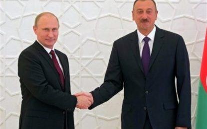 گفتگوی تلفنی روسای جمهور آذربایجان و روسیه
