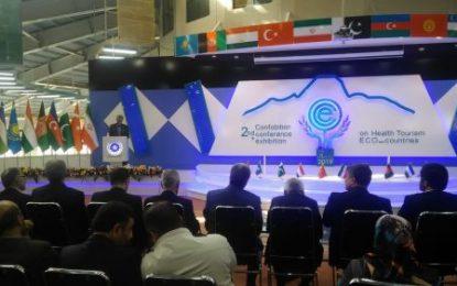 پایان دومین کنفرانس و نمایشگاه بین المللی گردشگری سلامت در اردبیل