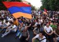 تظاهرات علیه پاشینیان در ایروان