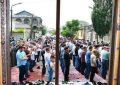 اقامه نماز عید فطر در جمهوری آذربایجان / عکس