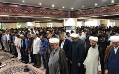برگزاری مراسم باشکوه نماز عید سعید فطر در مرکز اسلامی مسکو / عکس