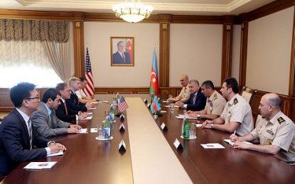 دیدار سفیر آمریکا در باکو با ذاکر حسن اف