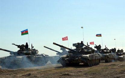 مانورهای مشترک نظامی جمهوری آذربایجان و ترکیه و دکترین پیش دستانه ارمنستان