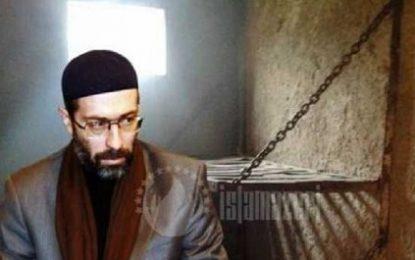 دیدار وکیل حاج محسن صمدوف با وی در زندان قوبوستان