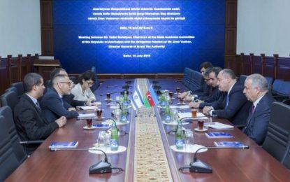 سفر مدیرکل گمرکات رژیم صهیونیستی به باکو
