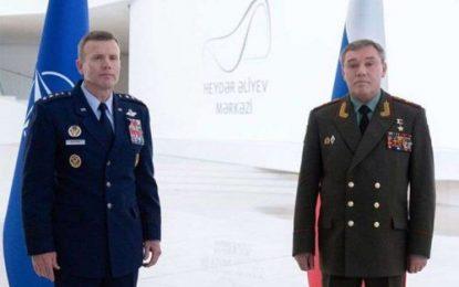رایزنی مقامات ارشد نظامی روسیه و ناتو در باکو