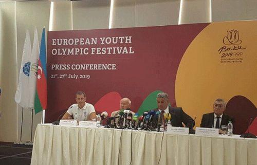 آغاز جشنواره المپیک تابستانی جوانان اروپا در باکو