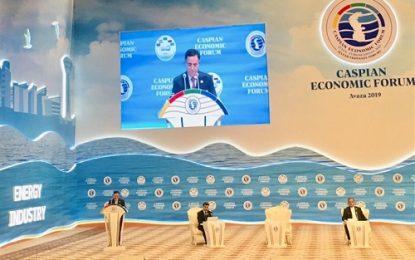 نتایج نخستین همایش مجمع اقتصادی کشورهای حاشیه دریای خزر