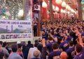 ورود کاروان زیارتی جمهوری آذربایجان به کربلای معلی / تصاویر