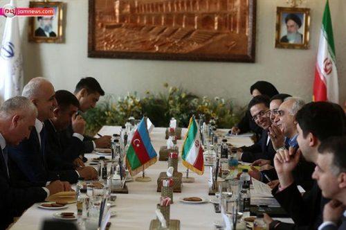دیدار وزرای اقتصاد ایران و جمهوری آذربایجان