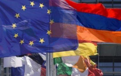 حساب ویژه ارمنستان بر حمایت مالی اروپایی ها