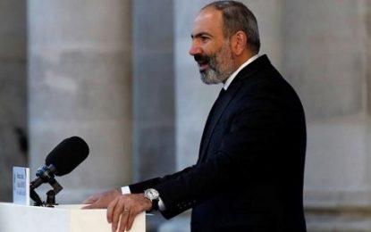 کاهش محبوبیت پاشینیان در میان مردم ارمنستان