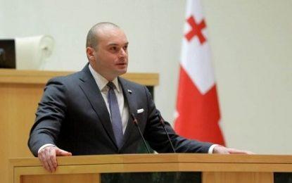 استعفا نخست وزیر گرجستان