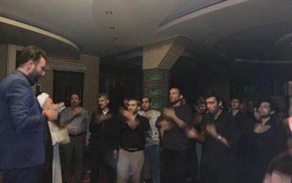 برگزاری مراسم عزاداری سرور سالار شهیدان در تفلیس