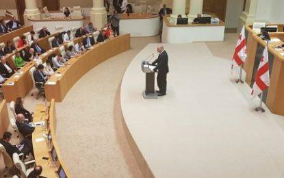 رای اعتماد پارلمان گرجستان به وزرای دولت جدید