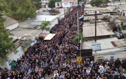 عزاداری روز عاشورا در مسجد مشهدی داداش باکو / فیلم