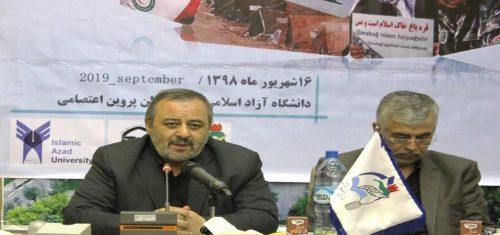 رئیس دانشگاه آزاد اسلامی استان آذربایجان شرقی: راه آزادی قره باغ تبعیت از مکتب امام حسین(ع) است