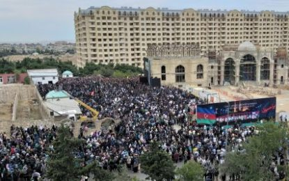 مراسم روز عاشورای حسینی در جمهوری آذربایجان / تصاویر