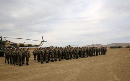 برگزاری مانور ناتو در مرکز آموزش های نظامی «قاراهیبت» باکو