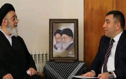 دیدار سفیر جمهوری آذربایجان در ایران با نماینده ولی فقیه در استان آذربایجان شرقی