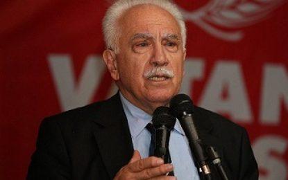 رهبر حزب وطن ترکیه: آنکارا باید در جهت عملیات نظامی مشترک با سوریه و عراق گام بردارد
