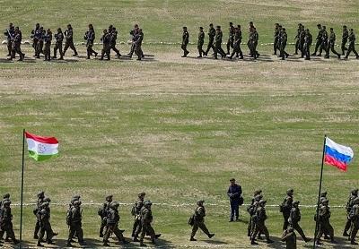 آغاز رزمایش مشترک نظامی روسیه و پنج کشور دیگر در نزدیکی مرزهای افغانستان